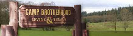 Camp Brotherhood Signpost