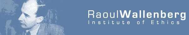 Raoul wallenberg Institute of Ethics Logo