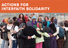 Actions for Interfaith Solidarity button